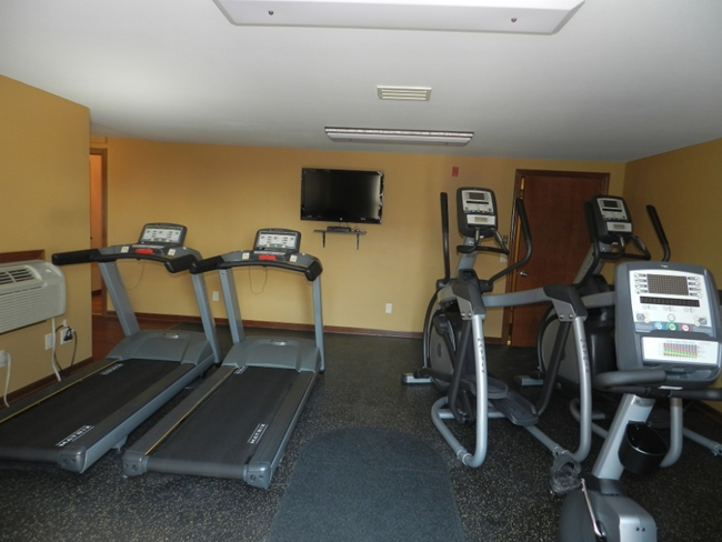 Ellipticals in Fitness Room
