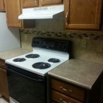 Kitchen Stove and Air Duct